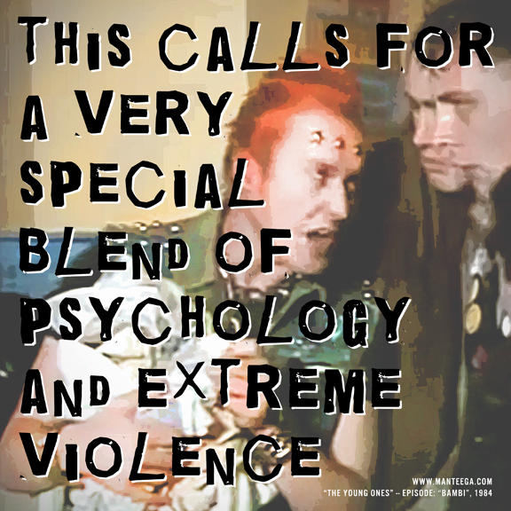 """This calls for a very special blend of psychology and extreme violence"""